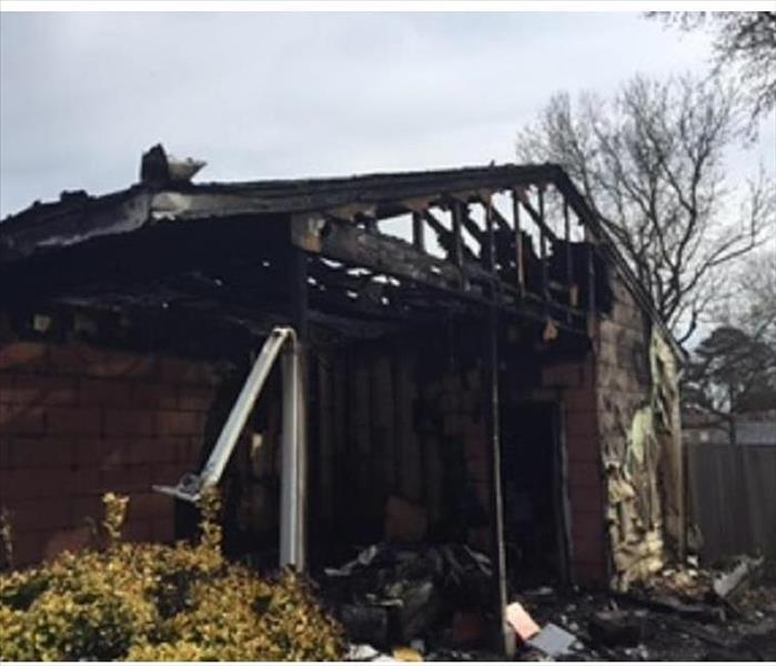 Electrical Fire Burned Down Entire Home Virginia Beach, VA