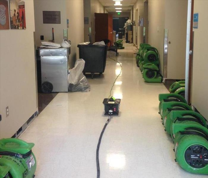 Water Damage at Aerospace Training Center Virginia Beach, VA