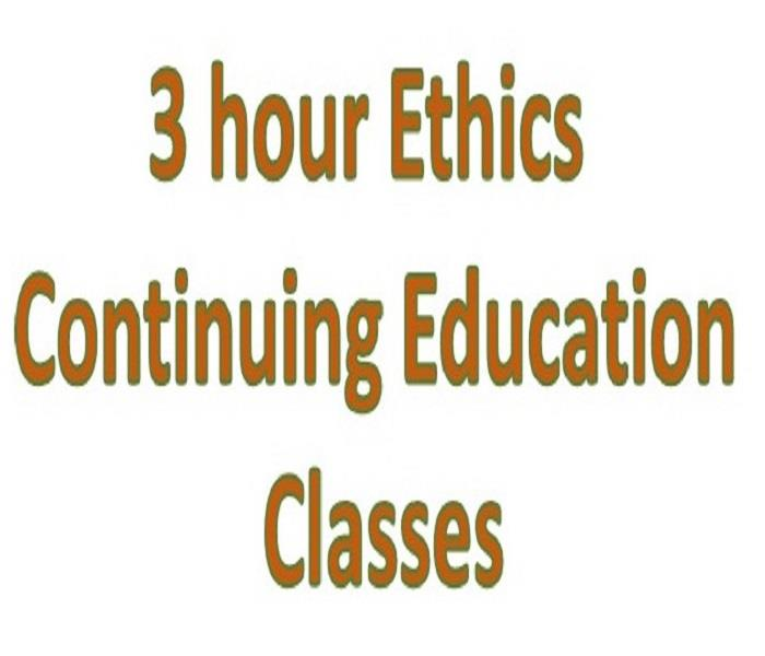 General 3 Ethics Classes were a SUCCESS!